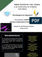 conferencia ENTEROBACTERIAS