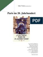 Verne, Jules - Paris Im 20. Jahrhundert
