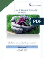 doc avaliação dep PE 2012-13