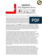 Oberon Nls Diagnostic Device