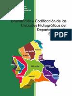 Delimitación y Codificación Unidades Hidrográficas Dpto.Santa Cruz