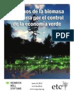 Los amos de la biomasa en guerra por el control de la economía verde