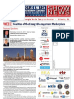 Upcoming World Energy Engineering Congress Program Overview