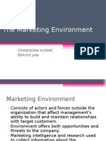 Micro& Macro Environmental Forces