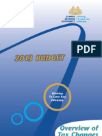 Zambia Budget 2013 - Tax Highlights