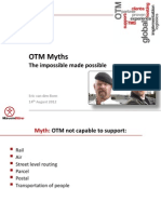 Complex Logistics Use Cases - OTM Myths