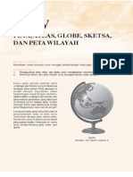 5. Peta, Atlas, Globe, Sketsa Dan Peta Wilayah