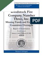 Woodstock Fire Co. 3 Audit