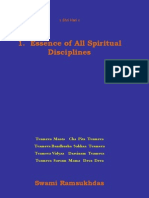 Essence of All Spiritual Disciplines - Swami Ramsukdas ji