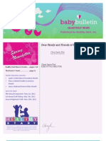 Healthy Start Quarterly Newsletter (spring)