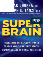 Super Brain by Deepak Chopra and Rudolph E Tanzi - Excerpt