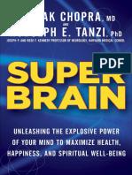 Super Brain by Deepak Chopra and Rudolph E Tanzi - Excerpt
