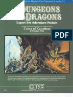 58671916 Dungeons Dragons TSR 9056 X3 Curse of Xanathon