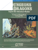 58671916 Dungeons Dragons TSR 9056 X3 Curse of Xanathon