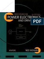 First Courses on Power Electronic and Drives