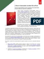 Adobe Revela Nueva Generación Acrobat XI en Perú