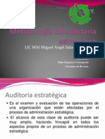 Metodologia de La Auditoria(Pilar)