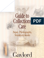 Historical Collections Care Guide