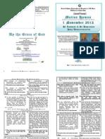 2012 - 1 Nov - St Kosmas and St Damianos