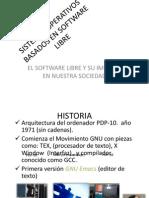 Sistemas Operativos Basados en Software Libre