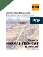 Norma Tecnica MBN 2010 CHILE