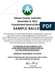 2012 AdCo Sample Ballot
