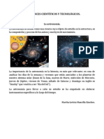 LOS AVANCES CIENTÍFICOS Y TECNOLÓGICOS