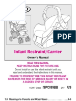 Graco Snugride Owner's Manual