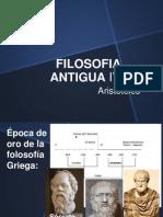 FILOSOFÍA ANTIGUA IV