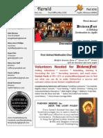 Fall 2012 Newsletter for Web