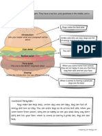 Hamburger Paragraph, Essay, And Thesis