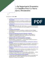 La Mineria y Su Importancia Economica Tecnologica y Cientifica Para La Nueva España Ensayos y Documentos