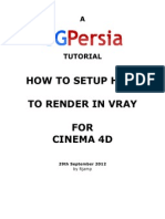 How to Render in Vray for Cinema 4D by Rjamp