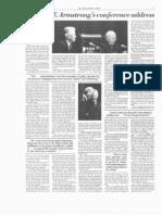 Jan 16 1978 WWN - Herbert W Armstrongs Conference Address Transcript