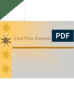 Cash Flow Estimation