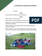 TRABAJO AUTÓNOMO  DE DESARROLLO Y HABILIDADES DEL PENSAMIENTO