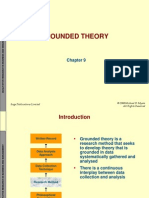 Chapter 9 - Grounded Theory