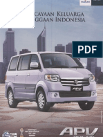 Brochure Suzuki APV Arena