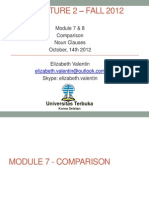 Module 7 Dan 8 - Comparison-noun Clauses