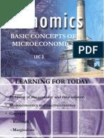 Basic Concepts of Microeconomics