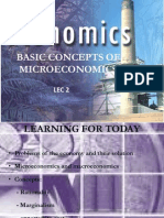 Basic Concepts of Microeconomics