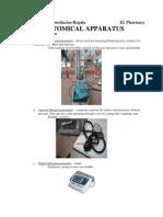 Anatomical Apparatus
