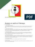 Avatars or Paths of Yemaya