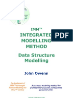 Data Structure Modeling eBook Extract