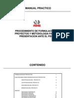 Formulacion Proyectos Fides