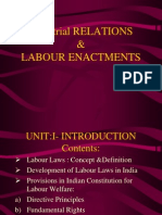 Industrial Relations and Labour Enactments
