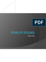 Stability Studies - Protocol for API & FPP