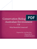 Conservation Biology for the Australian Environment1