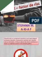 Alcoolul Factor de Risc