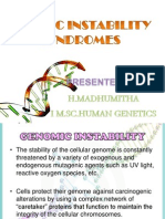 Cancer Genetics-Genetic Instability